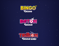Logos for online gambling platform