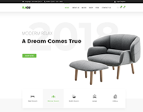 KAGU- Interior and Furniture-Premium PSD Template