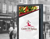 Casa Di Spice - Restaurant Branding