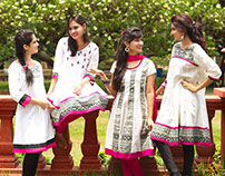 Ethnic Wear Kurtis for Melange by LIFESTYLE