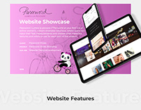 Password: Lumea la picioare - Website Showcase