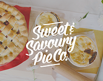 Sweet & Savoury Pie Co. Branding