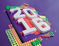 Paper Art - HNY 2016