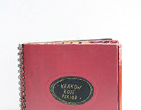 Krakow Rose Period // artist book