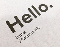 Welcome kit creative & design directing