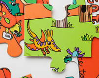 Dino Derby Puzzle