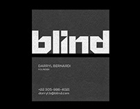 BLIND - Logo & Identity design.