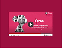 Women's Day Social Media Video Campaign - SLA Finserv
