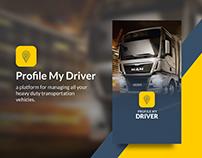 Profile My Driver - Mobile App