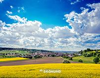 Todtenweis im Frühling - Landschaft
