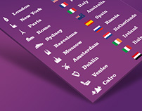 Staysure Travelling Icon & Flag Set