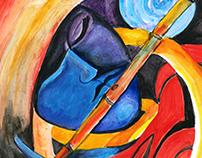 The Divine Hero - Lord Krishna