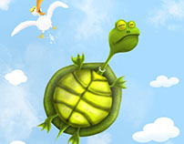 Turtle + drawing process