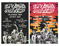 Poster - HMBSMS band California Tour 2015