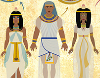 Ancient Egypt Character Design