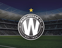 Warlingham Football Club Badge Redesign