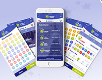 Irish National Lottery Application redesign concept