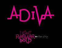 Adiva - New Typeface