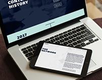Corporate Website, Tagungs-Flyer/Plakat AECH