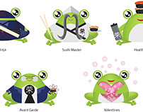 Frog Mascot illustration project