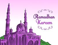 Vector Ramadhan Kareem 2016