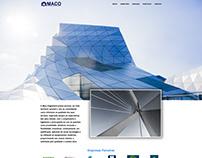 Site Institucional Maco Engenharia
