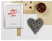 Frame Mockup VOL.2 - Valentine`s Day