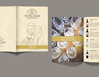 Karta win / Wine Card – CEZAR