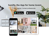 homify - App Landing Page