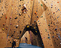 Indoor Climbing at San Francisco