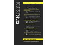 ZETTACOMM flyer