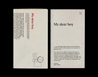 My Dear Boy, Book