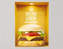 Burger Lounge - Branding Design Concept