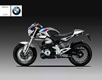 BMW G 310 CLASSIC RACER CONCEPT