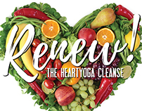 Renew! - Event Poster - HeartYoga