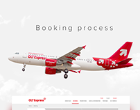 Overview of airline booking process OLT Express