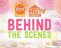 Food Network Magazine and HGTV Behind the Scenes Video
