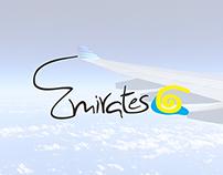 Fly Emirates Logo Design