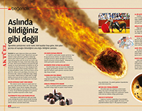 Magazine Page Design by Müslüm Gökalp
