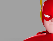 The Flash | 3d Character