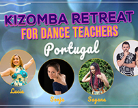 Facebook marketing imagery for dance workshops & events