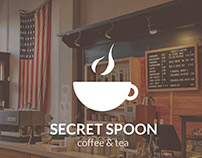 Secret Spoon Coffee&tea Branding