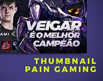Arte para o Concurso de Thumbnails da Pain Gaming