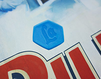 """La Pillola Blu di FIAT"" Poster"