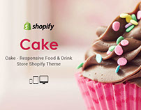 Cake – Responsive Food & Drink Store Shopify Theme