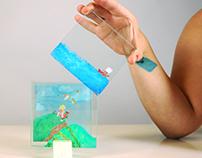 Experimental cube