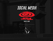 Social Media - Aerial Skate Shop
