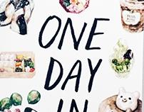 One Day in Tokyo - A Zine
