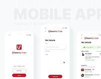 Mobile beting app