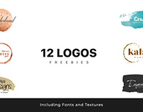 12 Logos Freebies